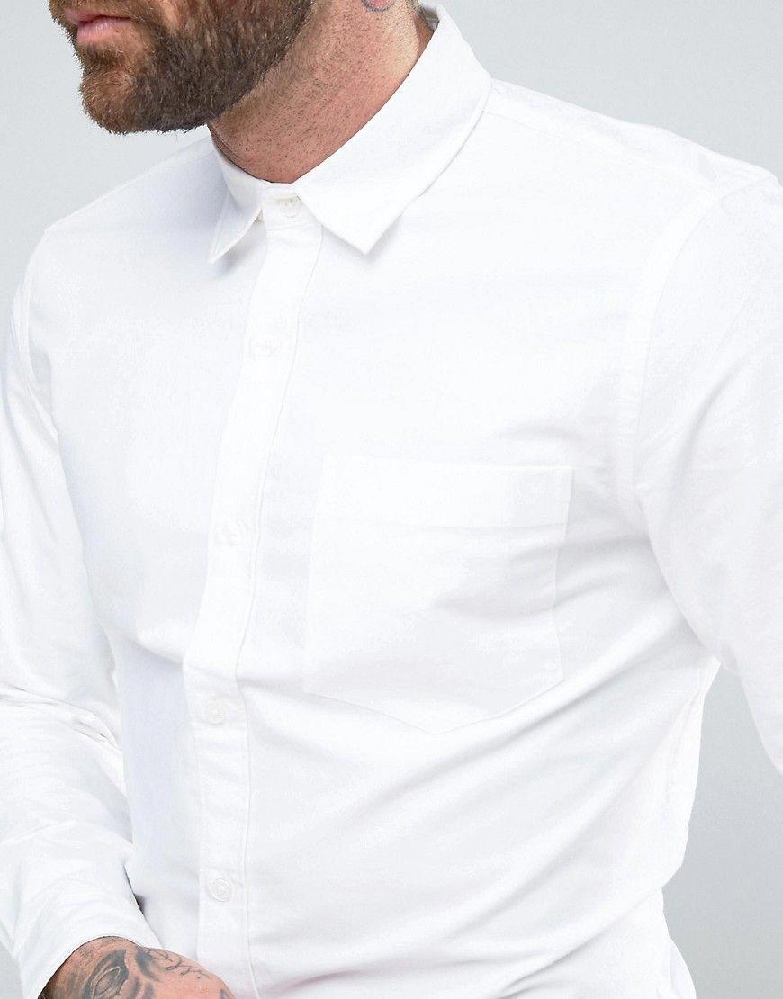 پیراهن آکسفورد پاییزی مردانه