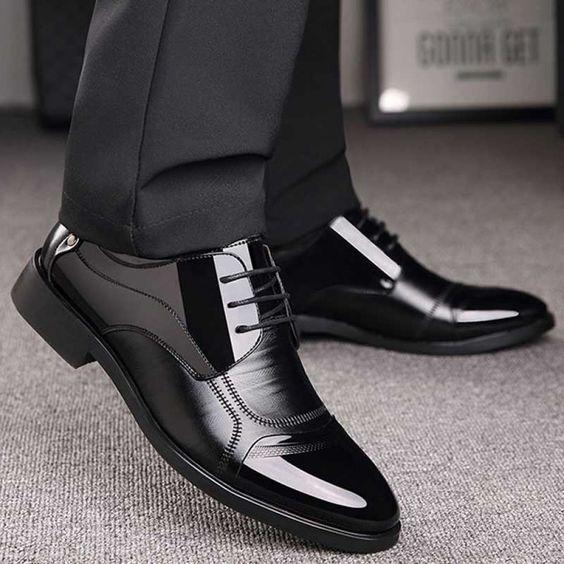 کفش-مشکی-کت-و-شلوار-مشکی نوین روز