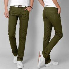 شلوار سبز مردانه نوین روز