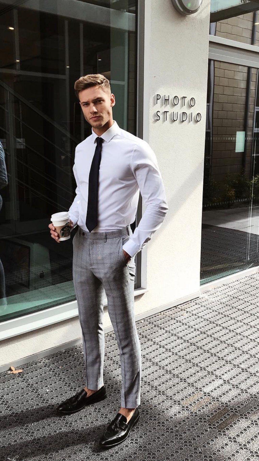 پیراهن سفید مردانه نوین روز