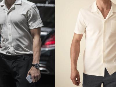 پیراهن آستین کوتاه مردانه نوین روز