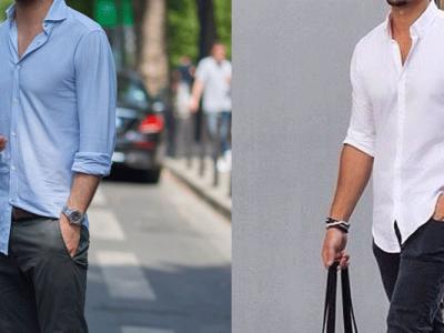 پیراهن برای مردان کوتاه قد نوین روز