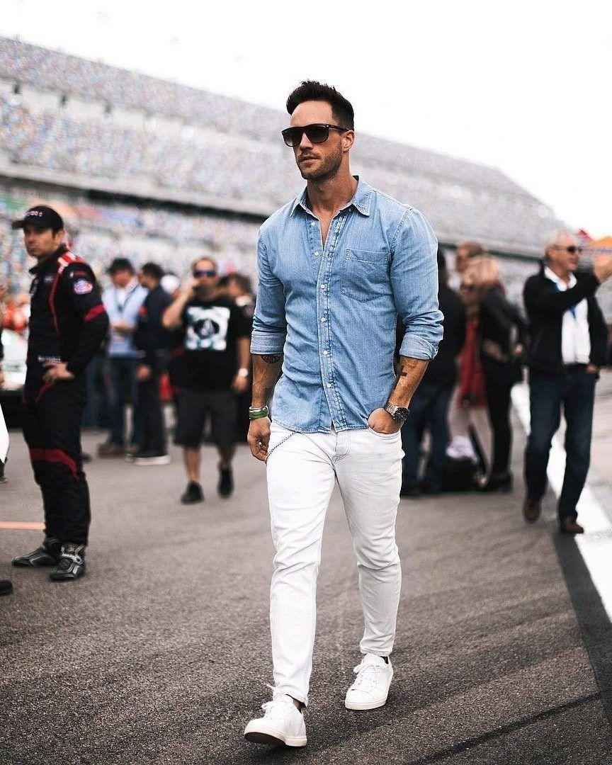پیراهن جین مردانه نوین روز
