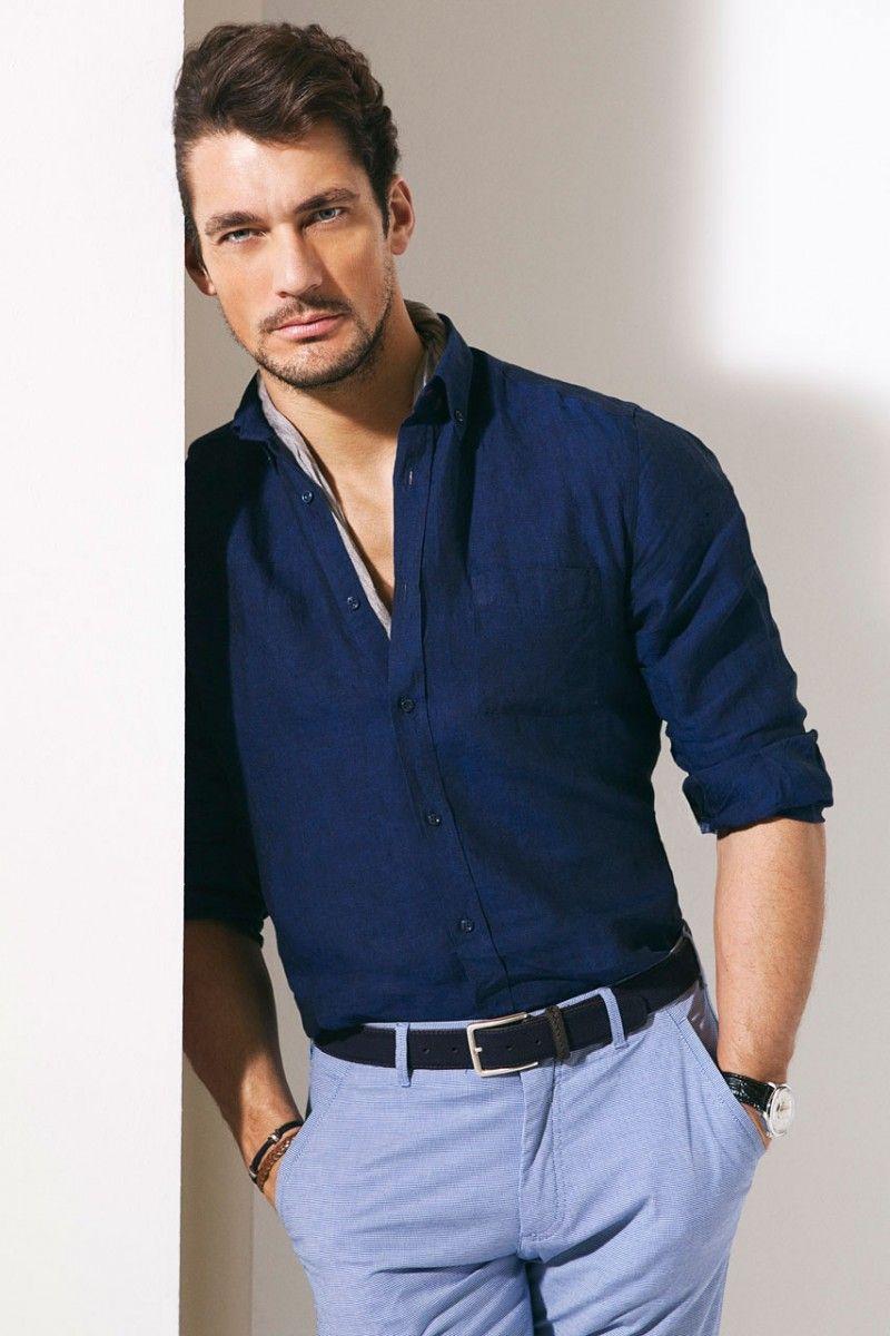 پیراهن مردانه سرمه ای نوین روز