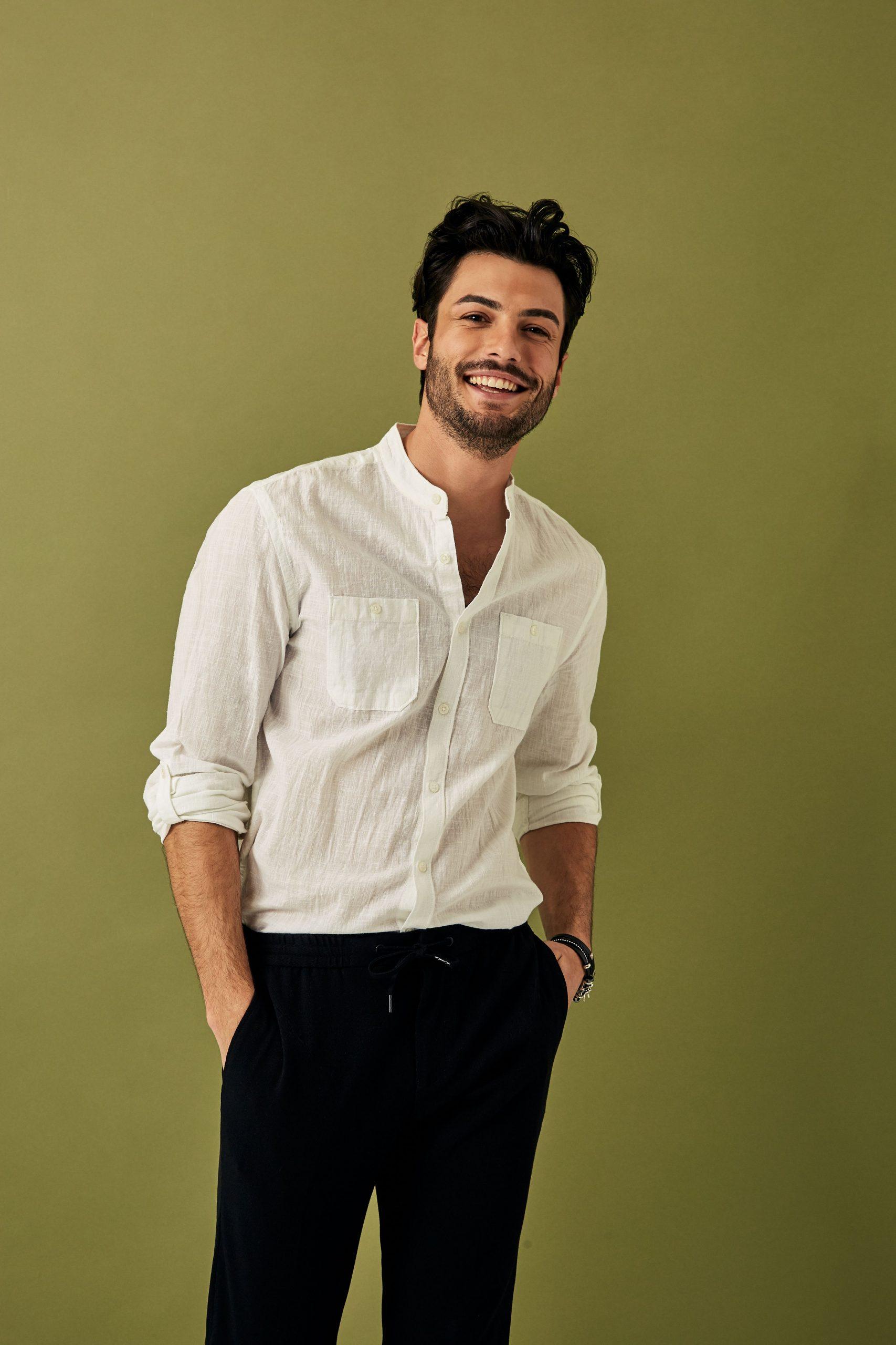 پیراهن مردانه نوین روز طرح پارچه