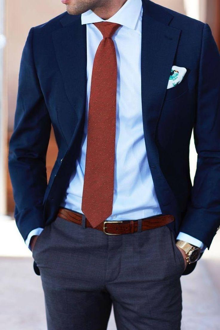 کراوات قرمز نوین روز