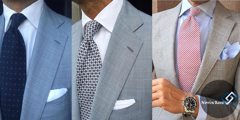 نوین روز ست پوشت و کراوات مردانه