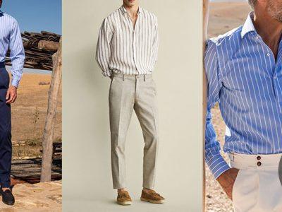 پیراهن-راه-راه-مردانه -نوین-روز